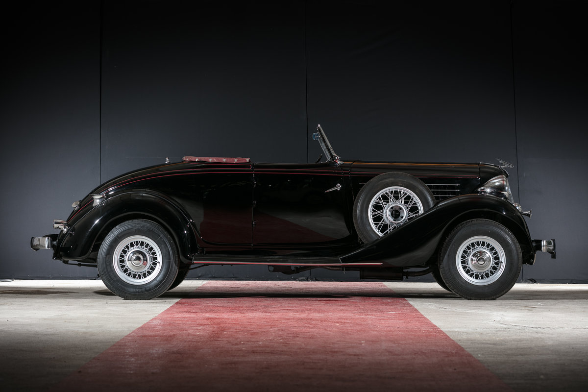 1935 Auburn 653 cabriolet avec spider - No reserve For Sale by Auction (picture 3 of 6)
