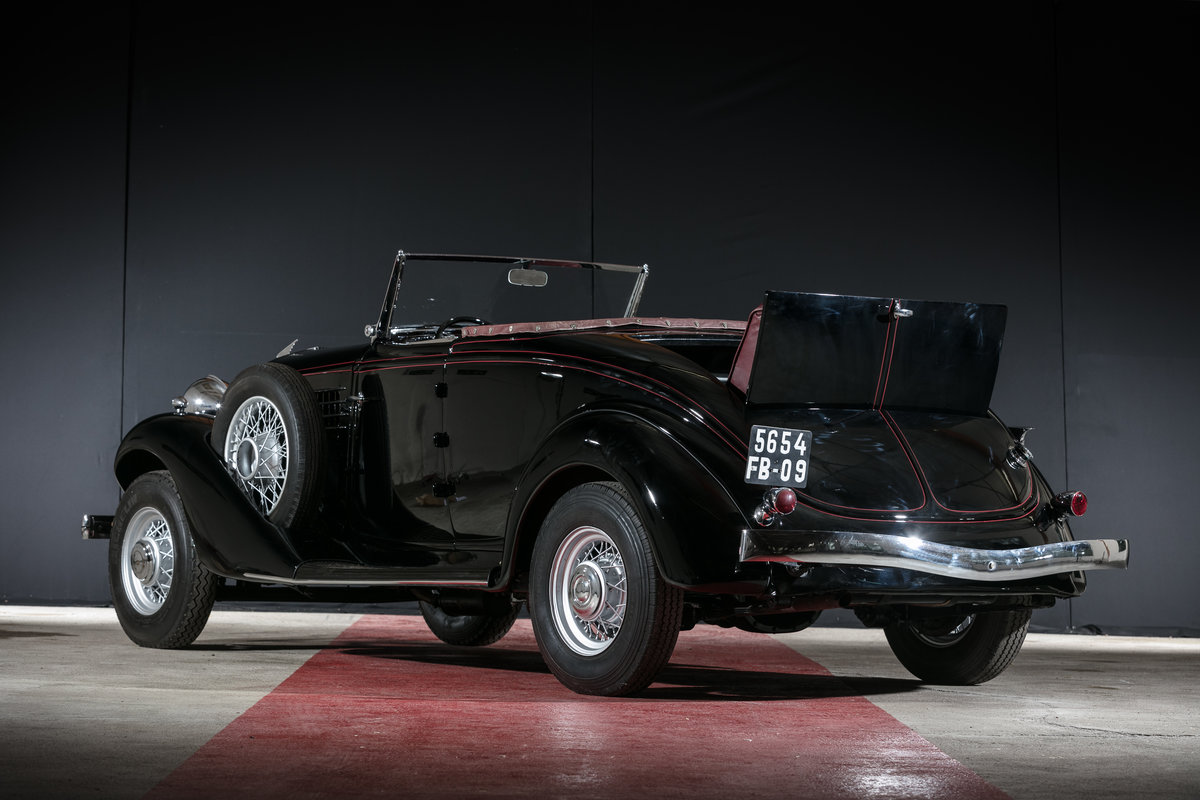 1935 Auburn 653 cabriolet avec spider - No reserve For Sale by Auction (picture 4 of 6)