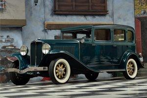 1931 Auburn 8-98 Sedan - Straight Eight