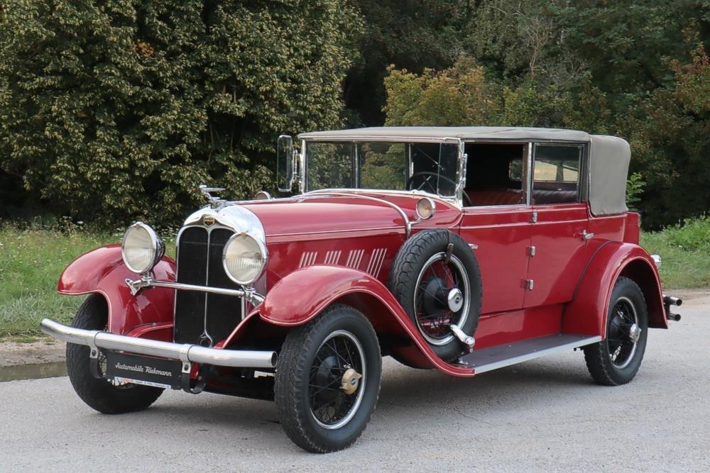 1929 Auburn 8-88 Phaeton Convertible For Sale (picture 1 of 12)