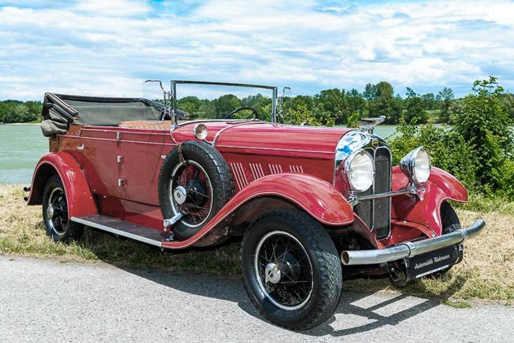 1929 Auburn 8-88 Phaeton Convertible For Sale (picture 2 of 12)
