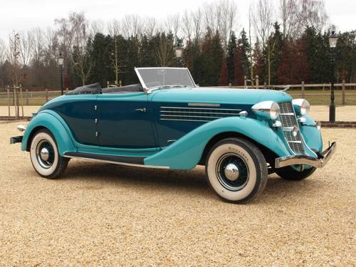1935 Auburn 851 Super Charged Converible Coupe  For Sale (picture 1 of 6)