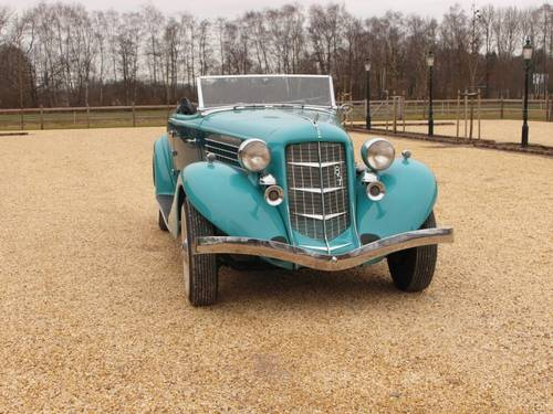 1935 Auburn 851 Super Charged Converible Coupe  For Sale (picture 2 of 6)