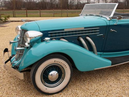 1935 Auburn 851 Super Charged Converible Coupe  For Sale (picture 3 of 6)