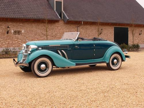 1935 Auburn 851 Super Charged Converible Coupe  For Sale (picture 4 of 6)