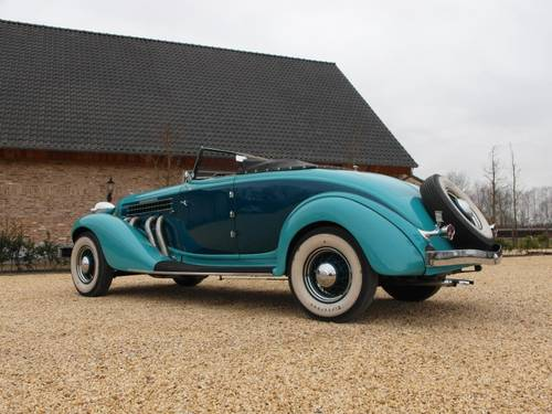 1935 Auburn 851 Super Charged Converible Coupe  For Sale (picture 5 of 6)