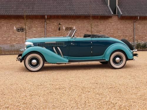 1935 Auburn 851 Super Charged Converible Coupe  For Sale (picture 6 of 6)