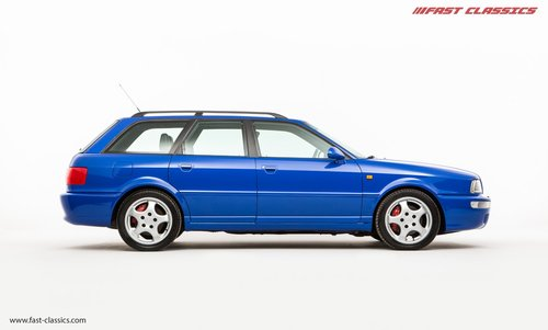 1994 AUDI RS2 // NOGARO BLUE // 69k MILES // LHD SOLD (picture 1 of 6)