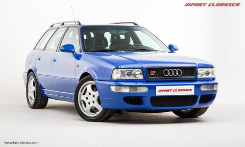 1994 AUDI RS2 // NOGARO BLUE // 69k MILES // LHD SOLD (picture 2 of 6)