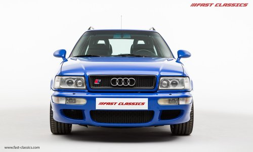 1994 AUDI RS2 // NOGARO BLUE // 69k MILES // LHD SOLD (picture 3 of 6)