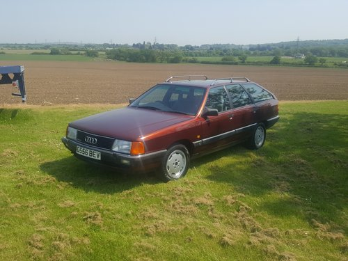 "1990 Audi 100 Avant ""Quattro"" 2.3 Manual with MSH For Sale (picture 1 of 6)"