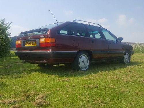 "1990 Audi 100 Avant ""Quattro"" 2.3 Manual with MSH For Sale (picture 2 of 6)"