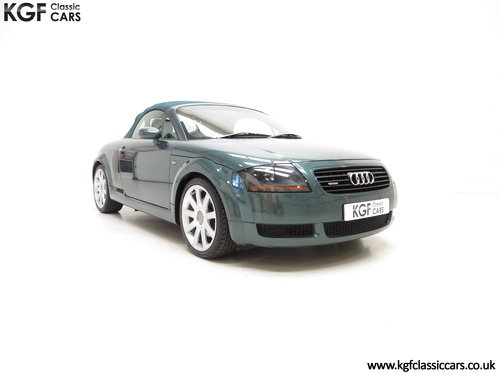 2002 A Wonderful Audi TT Quattro Roadster SOLD (picture 1 of 6)