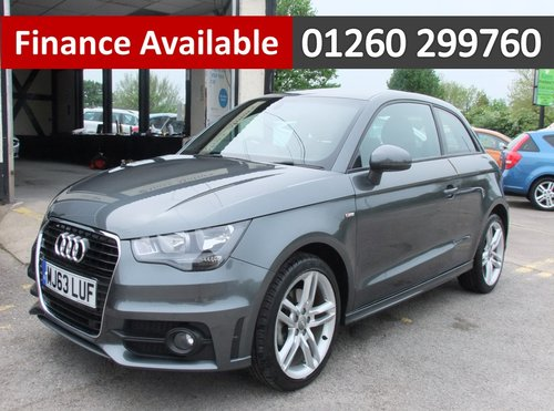 2013 AUDI A1 1.4 TFSI S LINE 3DR SEMI AUTOMATIC SOLD (picture 1 of 6)
