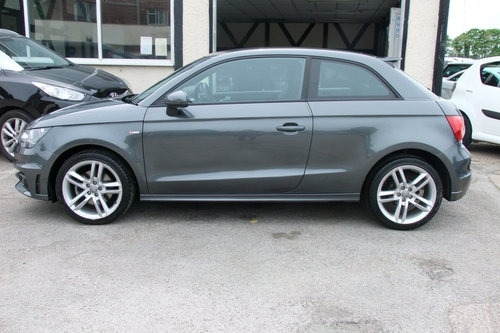 2013 AUDI A1 1.4 TFSI S LINE 3DR SEMI AUTOMATIC SOLD (picture 2 of 6)