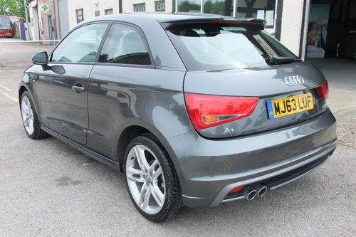 2013 AUDI A1 1.4 TFSI S LINE 3DR SEMI AUTOMATIC SOLD (picture 3 of 6)
