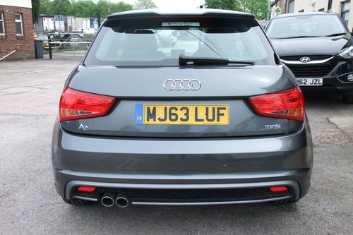 2013 AUDI A1 1.4 TFSI S LINE 3DR SEMI AUTOMATIC SOLD (picture 5 of 6)