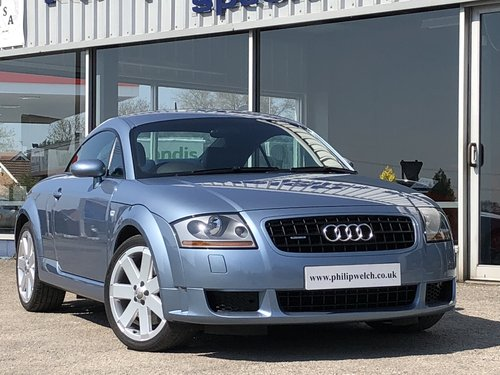 Audi Tt Mk 1 32 V6 Tiptronic Coupe Sold Car And Classic