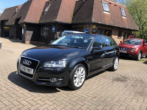 2011 (61) AUDI A3 2.0 TFSI SPORT SPORTBACK For Sale (picture 2 of 6)