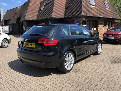 2011 (61) AUDI A3 2.0 TFSI SPORT SPORTBACK For Sale (picture 3 of 6)