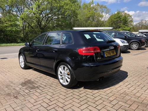 2011 (61) AUDI A3 2.0 TFSI SPORT SPORTBACK For Sale (picture 4 of 6)
