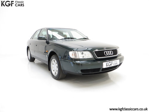 1996 A Truly Outstanding Audi A6 2.6SE with Full Sevice History SOLD (picture 1 of 6)