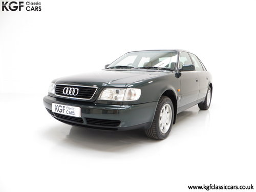 1996 A Truly Outstanding Audi A6 2.6SE with Full Sevice History SOLD (picture 2 of 6)