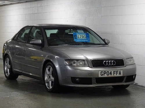 2004 Audi A4 1.9 TDI Sport 4dr 6 SPD 130 BHP For Sale (picture 1 of 6)