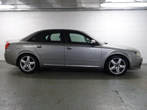 2004 Audi A4 1.9 TDI Sport 4dr 6 SPD 130 BHP For Sale (picture 2 of 6)