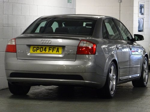 2004 Audi A4 1.9 TDI Sport 4dr 6 SPD 130 BHP For Sale (picture 3 of 6)