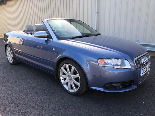 2006 AUDI A4 4.2 V8 S4 QUATTRO AUTO 339 BHP CABRIOLET CONVERTIBLE SOLD (picture 1 of 6)
