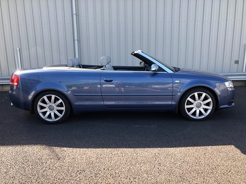 2006 AUDI A4 4.2 V8 S4 QUATTRO AUTO 339 BHP CABRIOLET CONVERTIBLE SOLD (picture 2 of 6)