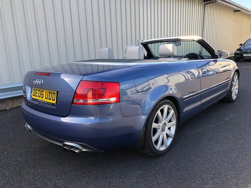 2006 AUDI A4 4.2 V8 S4 QUATTRO AUTO 339 BHP CABRIOLET CONVERTIBLE SOLD (picture 3 of 6)