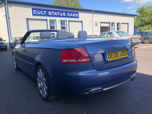 2006 AUDI A4 4.2 V8 S4 QUATTRO AUTO 339 BHP CABRIOLET CONVERTIBLE SOLD (picture 4 of 6)
