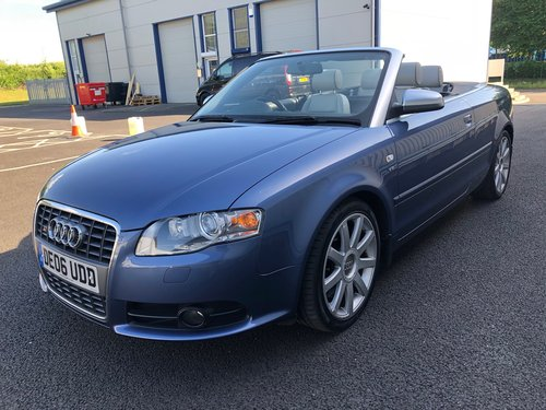 2006 AUDI A4 4.2 V8 S4 QUATTRO AUTO 339 BHP CABRIOLET CONVERTIBLE SOLD (picture 5 of 6)