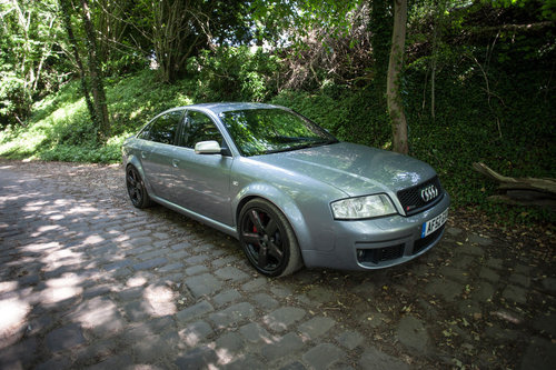 2002 Audi RS6 Saloon - 526 PS - 843 Nm For Sale (picture 1 of 4)