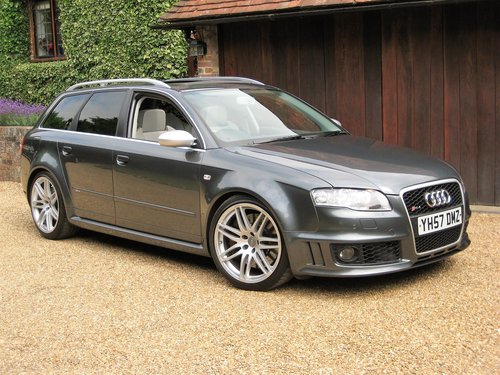 2007 Audi RS4 4.2 V8 Quattro Avant With Just 1 Owner Since 2008 For Sale (picture 2 of 6)