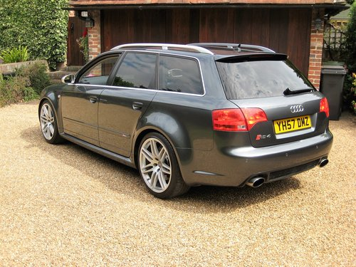 2007 Audi RS4 4.2 V8 Quattro Avant With Just 1 Owner Since 2008 For Sale (picture 5 of 6)
