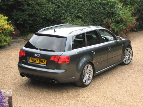 2007 Audi RS4 4.2 V8 Quattro Avant With Just 1 Owner Since 2008 For Sale (picture 6 of 6)