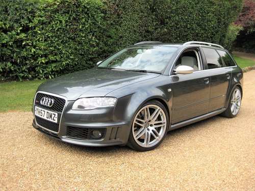 2007 Audi RS4 4.2 V8 Quattro Avant With Just 1 Owner Since 2008 For Sale (picture 1 of 6)