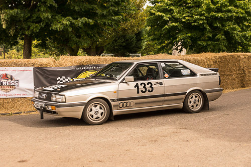 1987 Audi Coupe quattro sprint/hillclimb car for sale SOLD (picture 1 of 1)