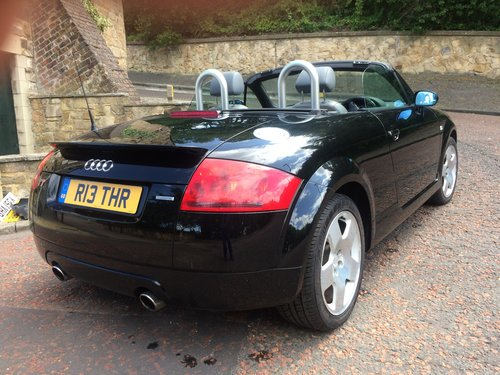 2002 Audi TT Roadster, 225, very low miles, and 2 owners. SOLD (picture 3 of 6)