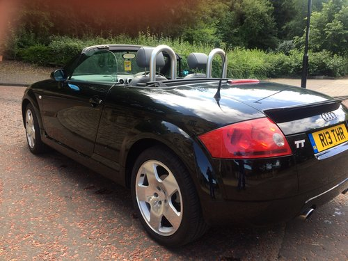 2002 Audi TT Roadster, 225, very low miles, and 2 owners. SOLD (picture 4 of 6)