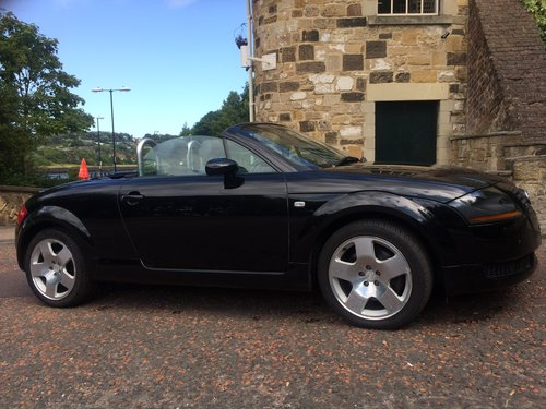2002 Audi TT Roadster, low miles, two owner SOLD (picture 2 of 6)