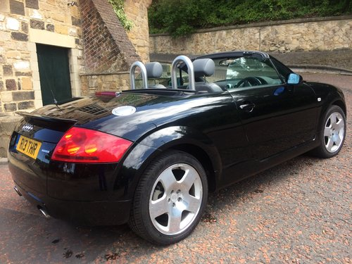 2002 Audi TT Roadster, low miles, two owner SOLD (picture 3 of 6)