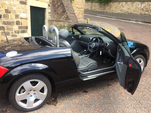 2002 Audi TT Roadster, low miles, two owner SOLD (picture 6 of 6)
