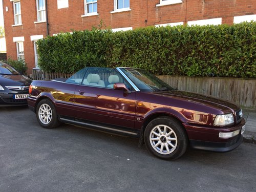 Audi Cabriolet 2.6e Auto 1996 Lovely Condition SOLD (picture 1 of 6)