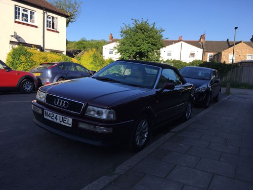 Audi Cabriolet 2.6e Auto 1996 Lovely Condition SOLD (picture 2 of 6)