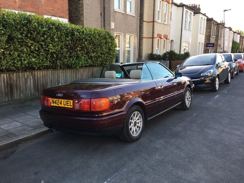 Audi Cabriolet 2.6e Auto 1996 Lovely Condition For Sale (picture 5 of 6)