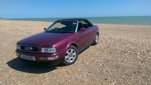 Audi 80 Cabriolet Final Edition 2000/W power hood For Sale (picture 1 of 6)
